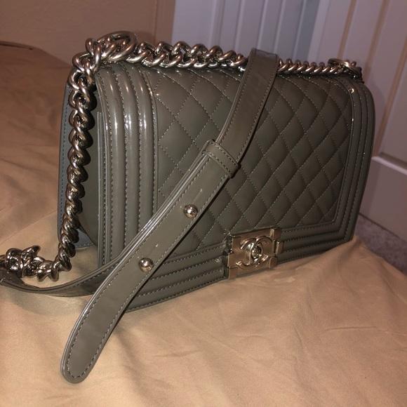 CHANEL Handbags - Chanel - Boy Flap Handbag - Quilted Lambskin